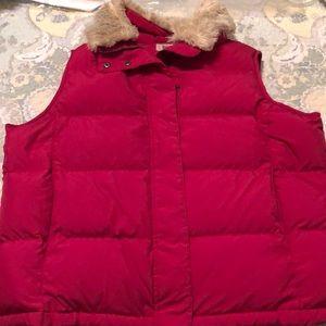 LL Bean Down Vest